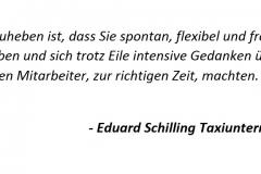 Eduard Schilling Taxiunternehmen